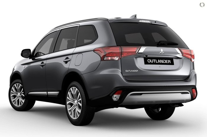 2020 Mitsubishi Outlander ES ZL MY20 4X4 On Demand Grey