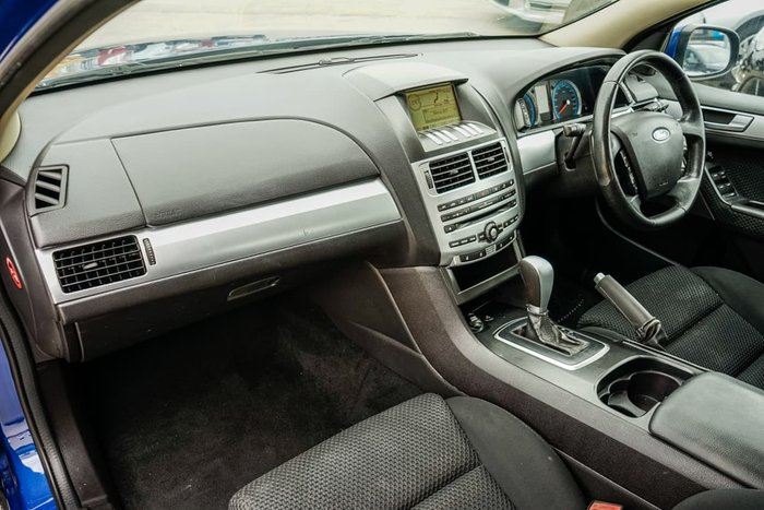 2010 Ford Falcon XR6 FG Blue