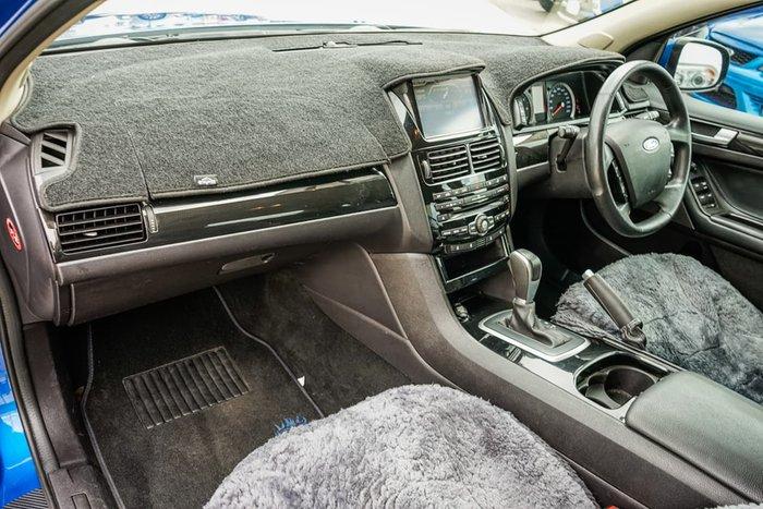 2012 Ford Falcon XR6 FG MkII Blue