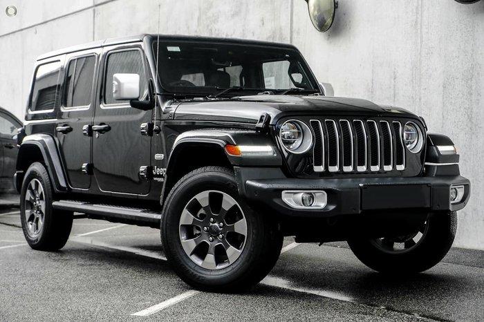 2020 Jeep Wrangler Unlimited Overland JL MY20 4X4 Dual Range Black