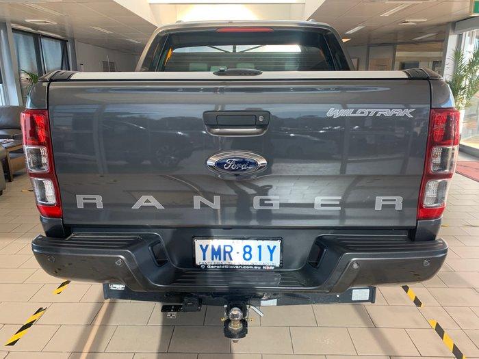 2018 Ford Ranger Wildtrak PX MkII MY18 4X4 Dual Range Grey