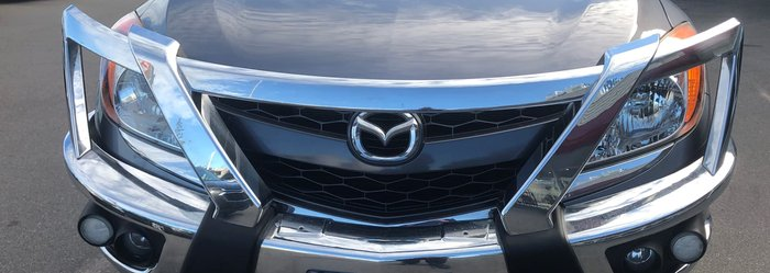 2013 Mazda BT-50 XTR UP 4X4 Dual Range Grey