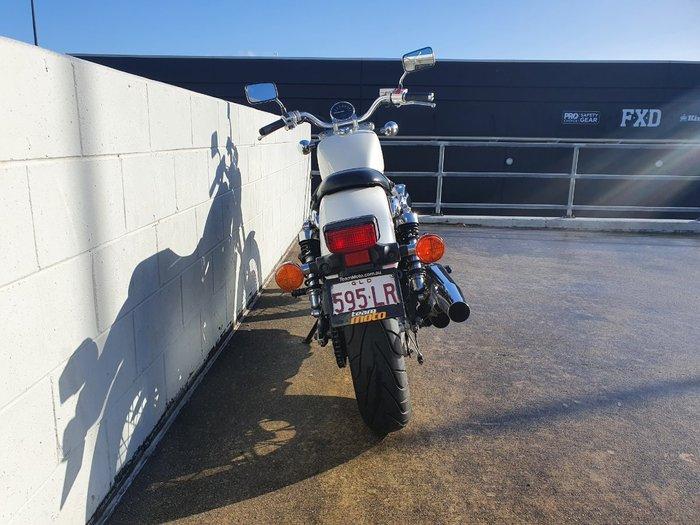 2011 Honda VT750S White