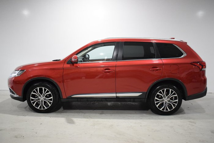 2016 Mitsubishi Outlander LS ZK MY16 4X4 On Demand Red