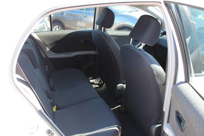 2010 Toyota Yaris YR NCP90R MY10 White