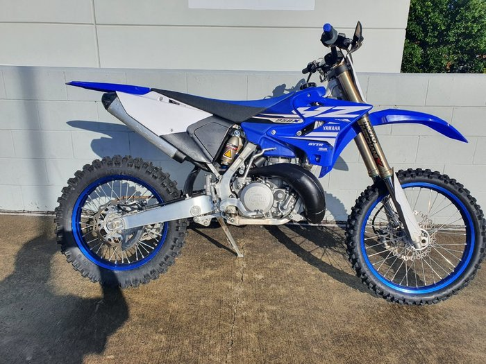 2018 Yamaha YZ250X CROSS COUNTRY Blue