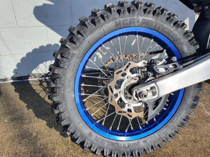 2018 Yamaha YZ250X CROSS COUNTRY Blue