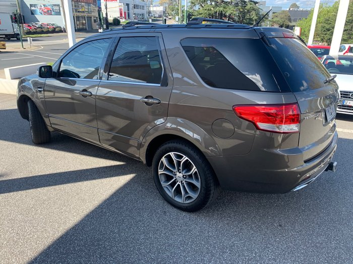 2011 Ford Territory Titanium SZ Four Wheel Drive Gold
