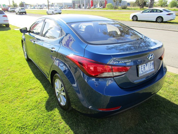2014 Hyundai Elantra SE MD3 Blue