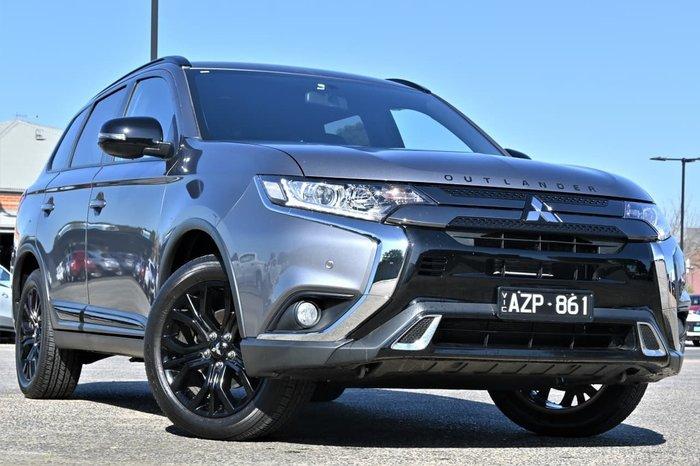 2018 Mitsubishi Outlander Black Edition ZL MY19 Grey