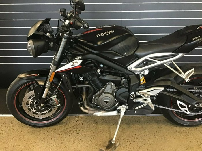 2018 Triumph STREET TRIPLE RS Black