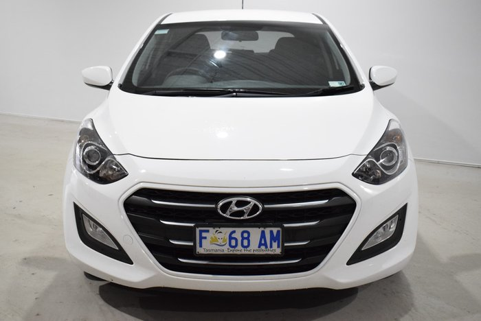 2016 Hyundai i30 Active GD4 Series II MY17 White