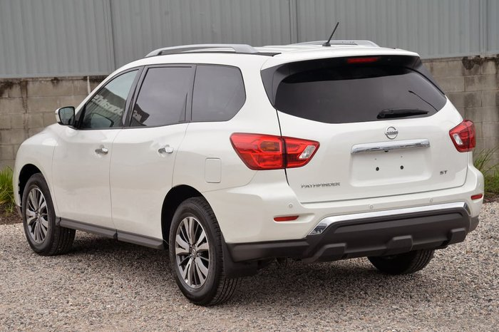 2019 Nissan Pathfinder ST R52 Series III MY19 White