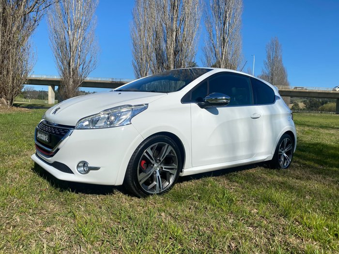2014 Peugeot 208 GTi A9 MY14 White