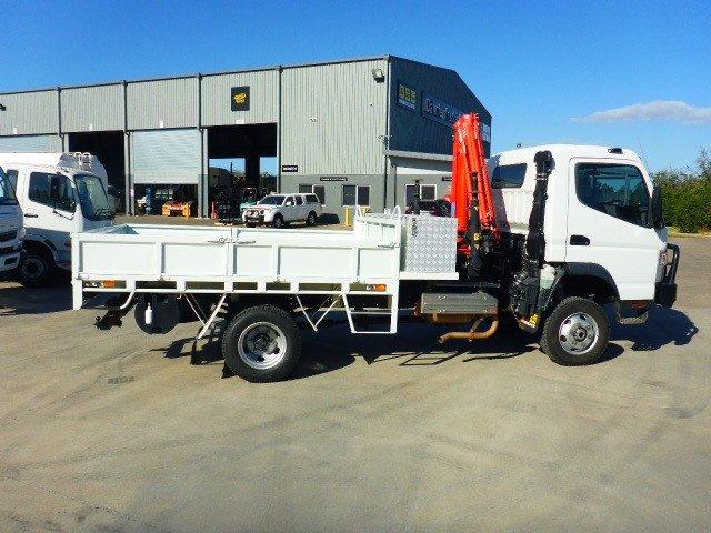 2013 Fuso Canter 815 4x4 Service Truck White