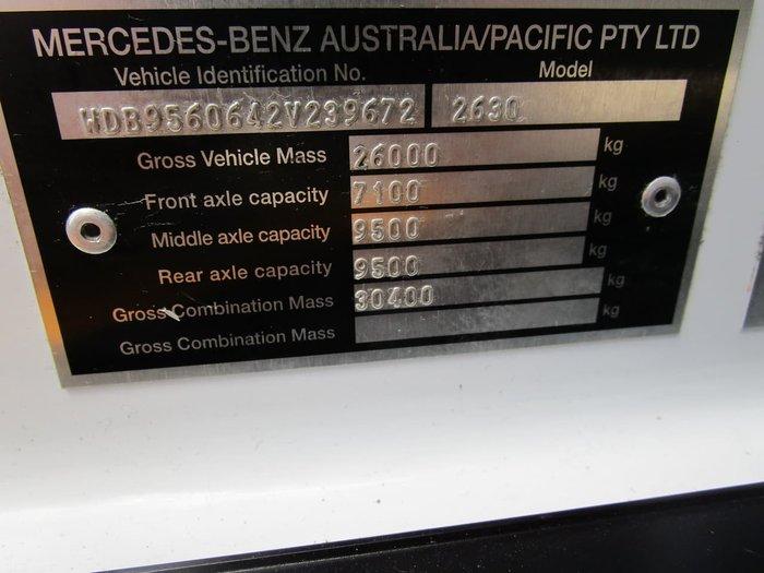 2016 MERCEDES-BENZ ECONIC 2630LL DUAL CONTROL WHITE