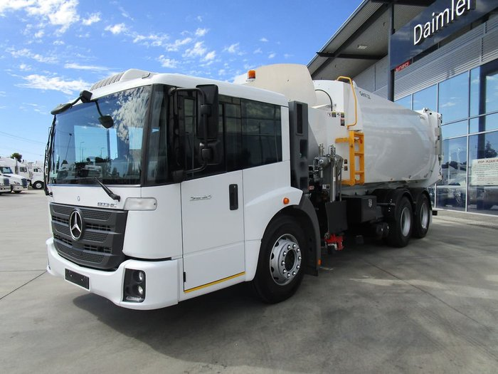 2016 MERCEDES-BENZ ECONIC 2630LL DUAL CONTROL null null WHITE
