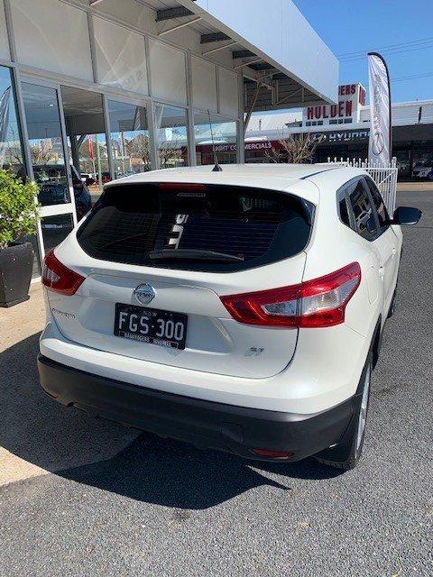 2016 Nissan QASHQAI ST J11 WHITE