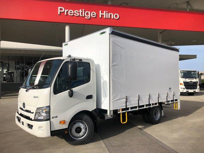 2020 HINO 816 300 SERIES White