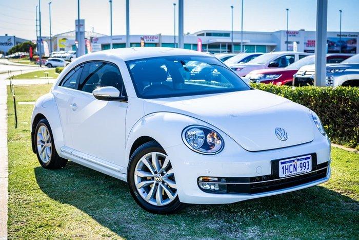 2013 Volkswagen Beetle 1L MY13 White