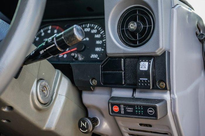 2003 Toyota Landcruiser Troopcarrier HDJ78R 4X4 Dual Range Blue
