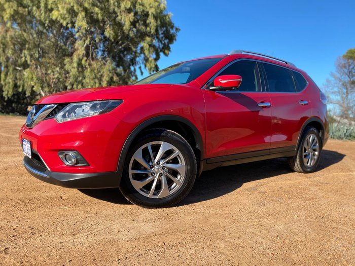 2015 Nissan X-TRAIL Ti T32 4X4 On Demand Red