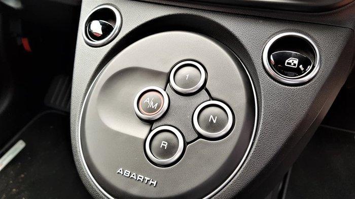2019 Abarth 595 Competizione Series 4 Black