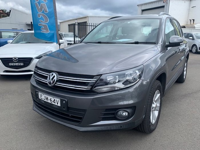 2013 Volkswagen Tiguan 132TSI Pacific 5N MY13.5 Four Wheel Drive Grey