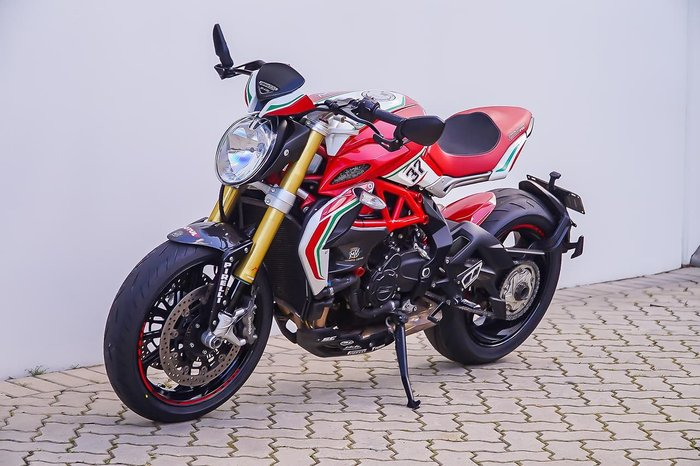 2017 MV AGUSTA BRUTALE 800 DRAGSTER RC Red