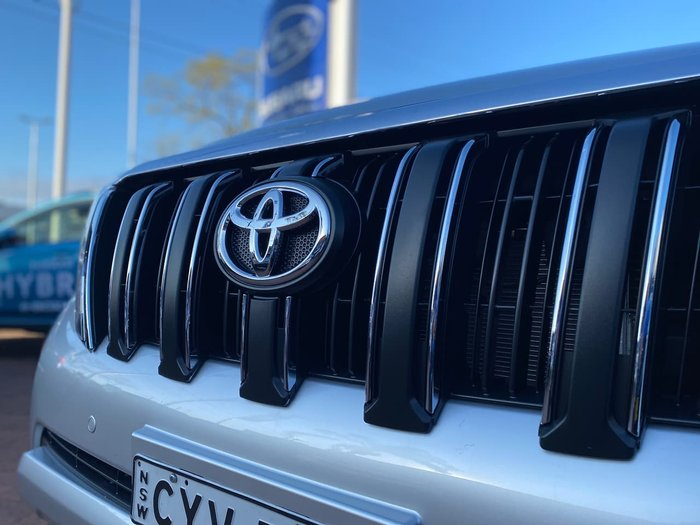 2015 Toyota Landcruiser Prado GXL KDJ150R MY14 4X4 Dual Range Silver