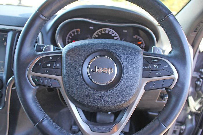 2013 Jeep Grand Cherokee Limited WK MY14 4X4 Constant Silver
