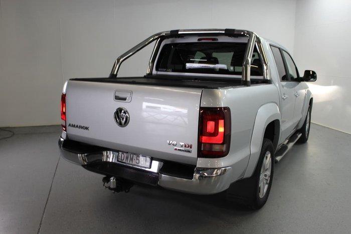 2018 Volkswagen Amarok TDI550 Highline 2H MY18 4X4 Constant Silver