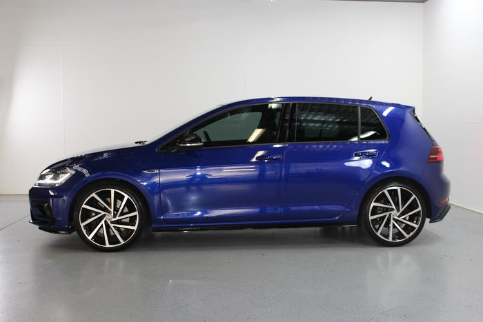 2018 Volkswagen Golf R Grid Edition 7.5 MY18 Four Wheel Drive Blue