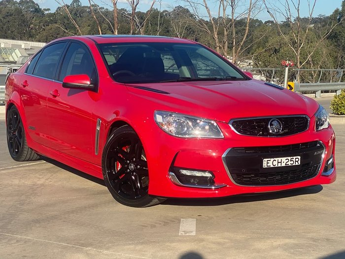 2016 Holden Commodore SS V Redline VF Series II MY16 Red