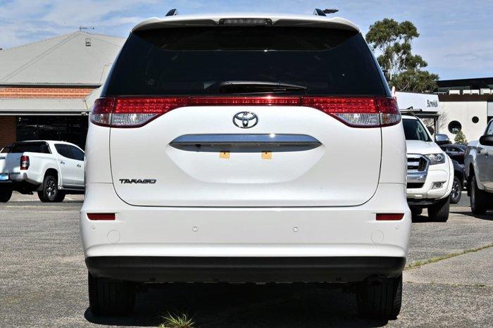 2017 Toyota Tarago GLX ACR50R White