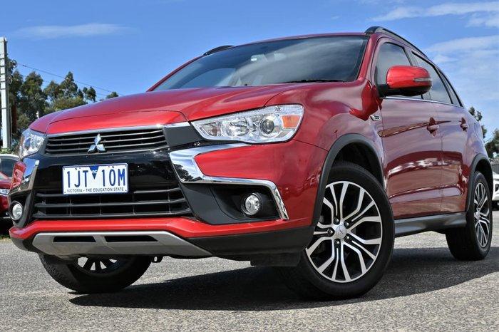 2016 Mitsubishi ASX LS XC MY17 Red