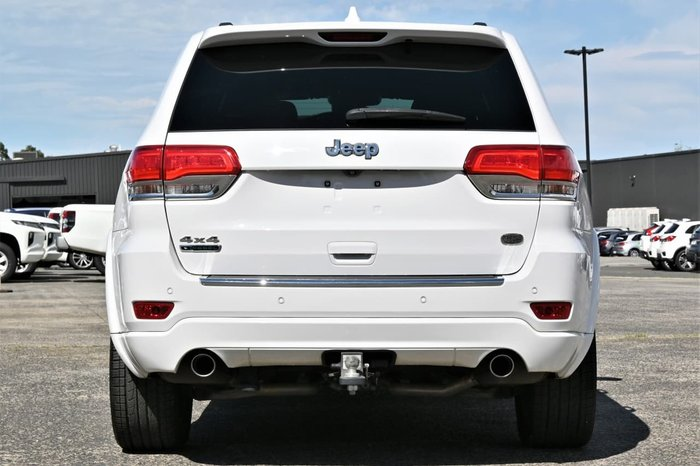 2013 Jeep Grand Cherokee Overland WK MY14 4X4 Constant White