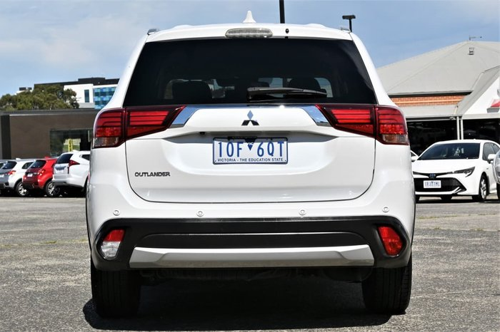 2017 Mitsubishi Outlander LS Safety Pack ZK MY17 White