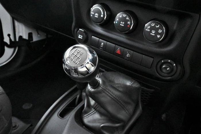 2016 Jeep Wrangler Unlimited Sport JK MY16 4X4 Dual Range White