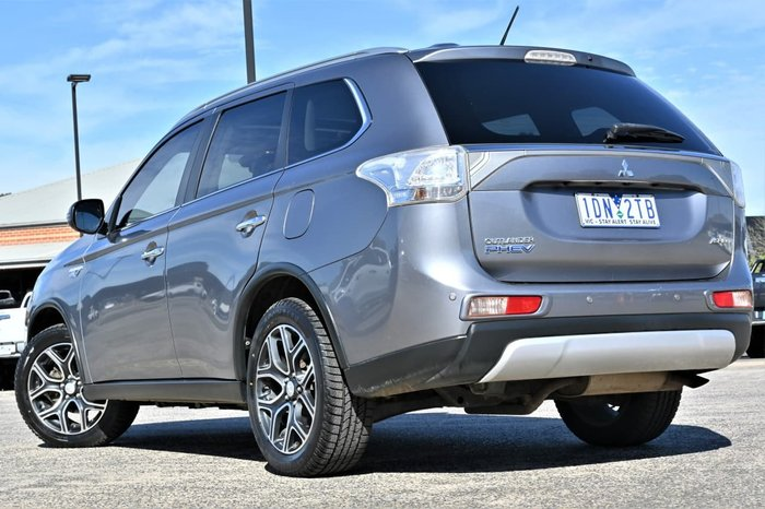 2015 Mitsubishi Outlander PHEV Aspire ZJ MY14.5 Four Wheel Drive Grey