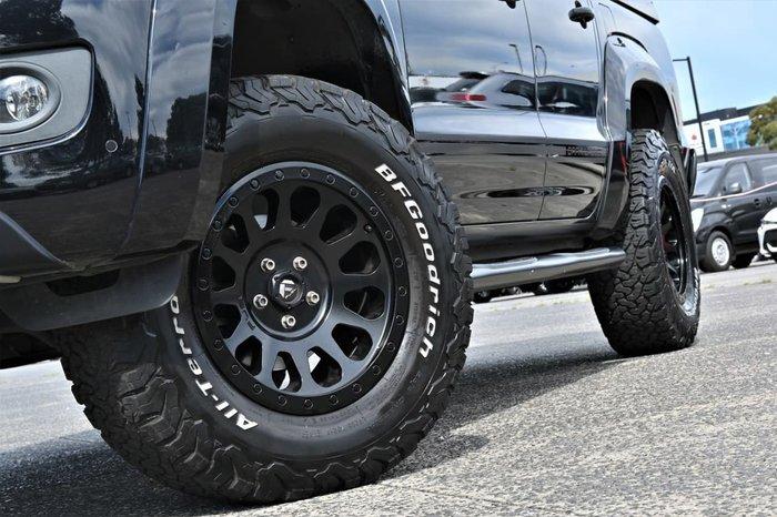 2015 Volkswagen Amarok TDI420 Atacama 2H MY16 4X4 Constant Black