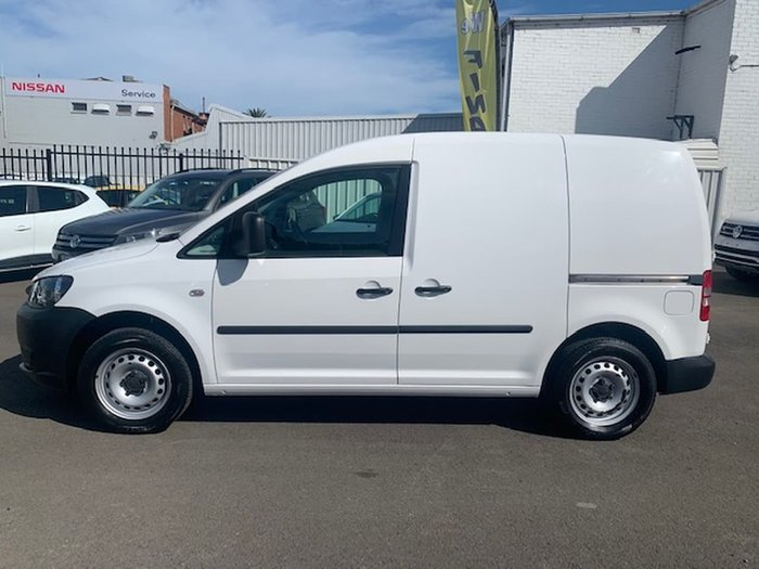 2014 Volkswagen Caddy TDI250 2KN MY14 White