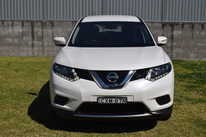 2014 Nissan X-TRAIL ST T32 White