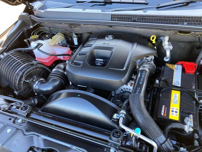 2020 Holden Trailblazer Z71 RG MY20 4X4 Dual Range Black