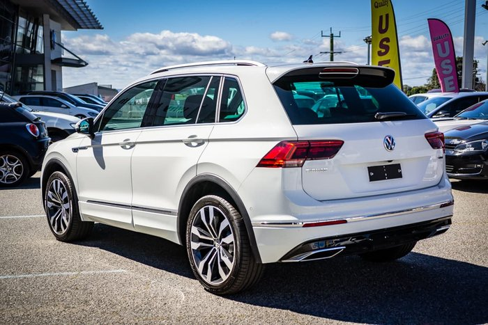 2019 Volkswagen Tiguan 162TSI Highline 5N MY19.5 Four Wheel Drive White