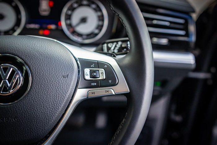 2019 Volkswagen Touareg 190TDI CR MY20 Four Wheel Drive Black