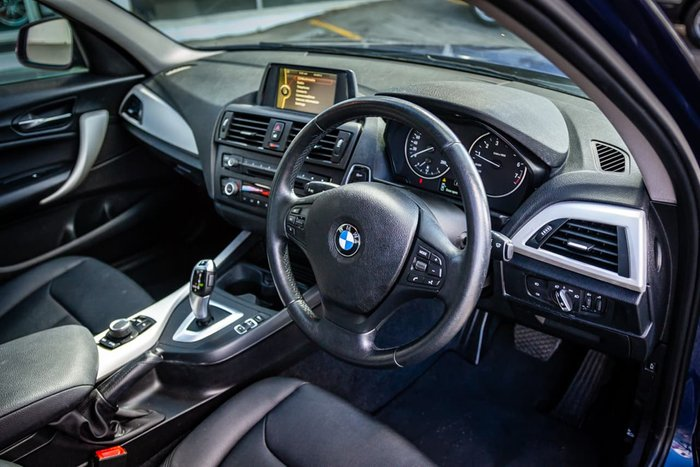 2012 BMW 1 Series 118i F20 Blue