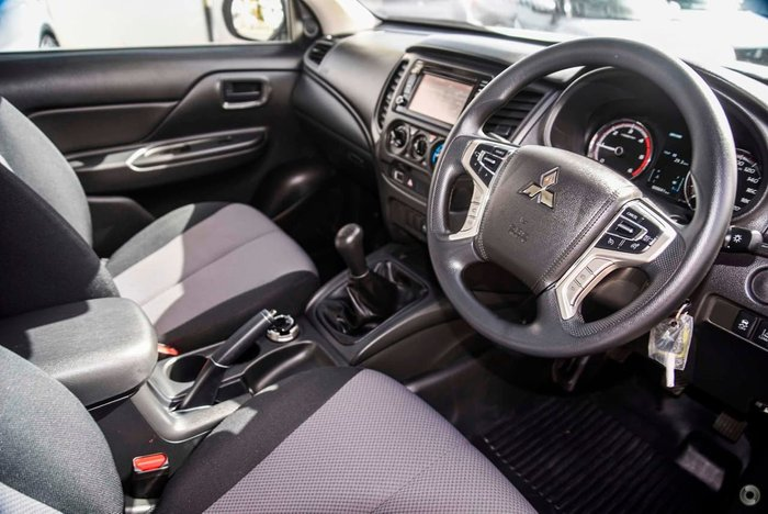 2020 Mitsubishi Triton GLX ADAS MR MY20 4X4 Dual Range White