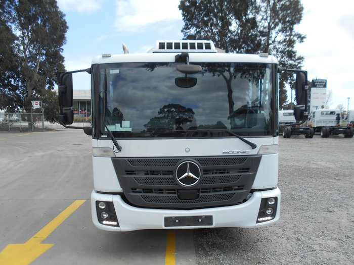 2015 MERCEDES-BENZ ECONIC 2630LL DUAL CONTROL White