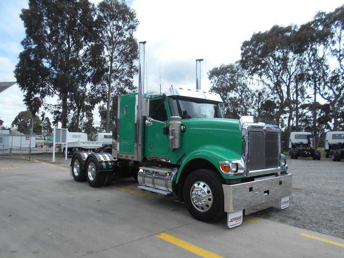 2009 INTERNATIONAL 9900I EAGLE Green